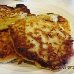 Leftover Mashed Potato Cakes recipe