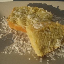 Coconut Pound Cake (Using Coconut Milk) recipe