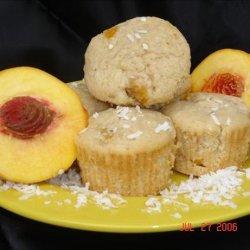 Coconut Peach Muffins recipe