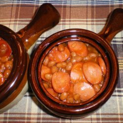 Baked Beans With a Taste of Orange recipe