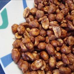 Toffee Coated Peanuts recipe