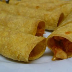 Hg's Exploding Chicken Taquitos - Ww Points = 4 recipe