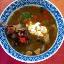 Hearty Black Bean Soup recipe