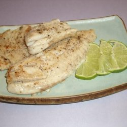 Tilapia With a Touch of Lime recipe