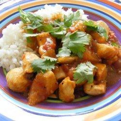 Chicken Curry With Mango Chutney recipe
