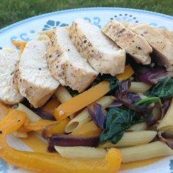 Chicken, Spinach, and Pasta recipe