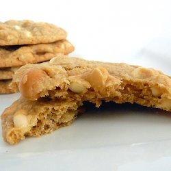 Chocolate Macadamia Nut and White Chocolate Chip Cookies recipe