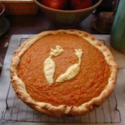Carrot Pie recipe