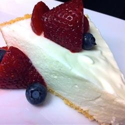 Lemon Mousse Pie recipe