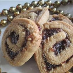 Date Nut Pinwheel Cookies I recipe