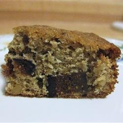 Fig Spice Cake recipe
