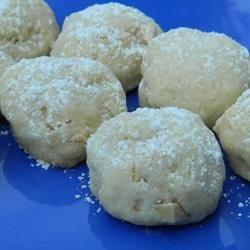 Amaretto Butter Balls recipe
