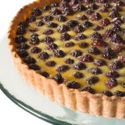 Berry Custard Pie recipe