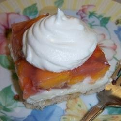 Peaches and Cream Pie II recipe
