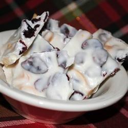 Cranberry Macadamia Nut Bark recipe
