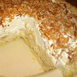 Truly Coconutty Cream Pie recipe