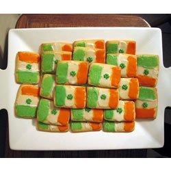 Irish Flag Cookies recipe