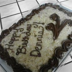 German Sweet Chocolate Cake II recipe