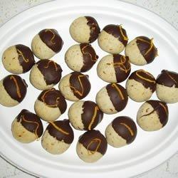 Orange Pecan Cookies recipe