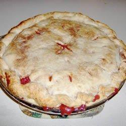 Dried Cherries and Apple Pie recipe