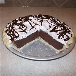 Nancy's Chocolate Fudge Pie recipe