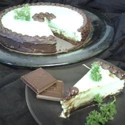 Chocolate Mint Cheesecake recipe