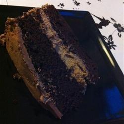 Fudge Layer Cake recipe