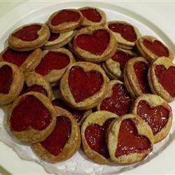 Raspberry Hearts recipe