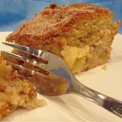 Cinnamon-Apple Cake AKA Hanukkah Cake recipe