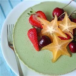 Green Tea Mousse Cheesecake recipe