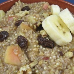Quinoa and Oatmeal  Cereal Heart Healthy recipe