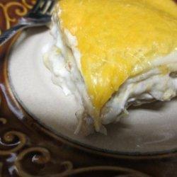 Creamy Chicken and Chile Casserole recipe