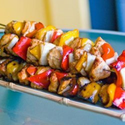 Middle Eastern Chicken Kebabs in Honey-Soy Marinade recipe