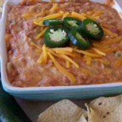 Hot Cheddar Bean Dip recipe