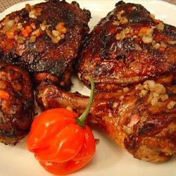 Jamaican Jerk Chicken for Two recipe