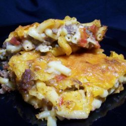 Spicy Macaroni and Cheese Casserole recipe