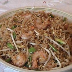 Vegetable Shrimp Fried Rice recipe