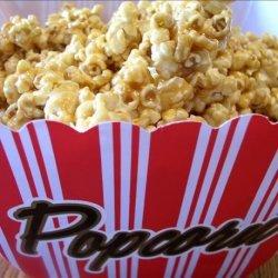 Super Soft Caramel Popcorn recipe
