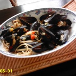 spicy mussels in white wine sauce recipe