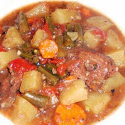 Crock Pot Beef or Lamb Casserole recipe