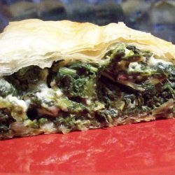 Tip's Spanakopita (Spinach Pie) recipe