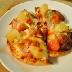 Ham and Pineapple Pizza recipe