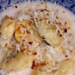 Banana in Coconut Cream recipe