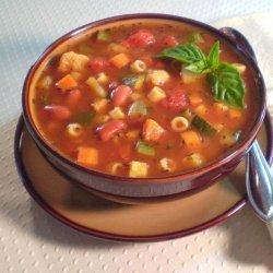 Katzen's Minestrone (Vegetarian) recipe