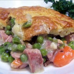 Quick Turkey  Pot Pie recipe