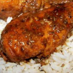 Caramelized Lemongrass Chicken Thighs recipe