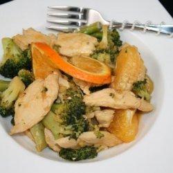 Orange Chicken With Broccoli (Weight Watchers) recipe