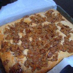 Overnight Crunch Coffee Cake recipe