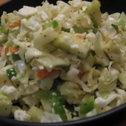 Coleslaw With Apples and Feta recipe