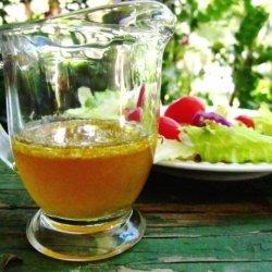 Burnt Honey and Orange Vinaigrette recipe